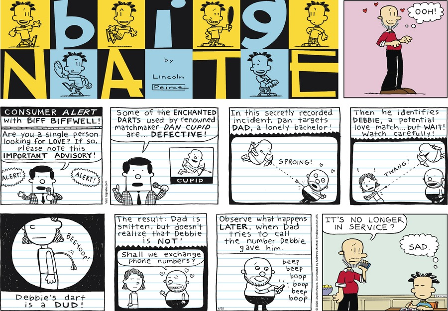 Big Nate by Lincoln Peirce on Sun, 28 Jun 2020