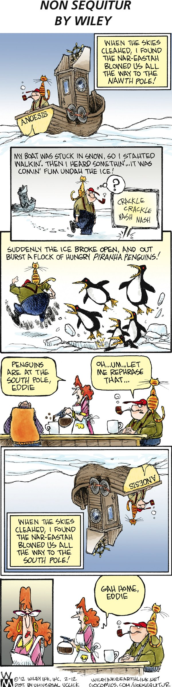 Non Sequitur for Feb 12, 2012 Comic Strip