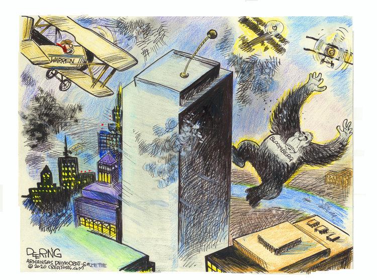 John Deering Comic Strip for March 01, 2020