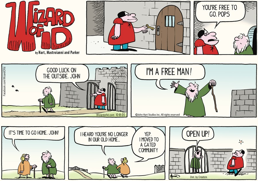 Wizard of Id Comic Strip for October 18, 2020