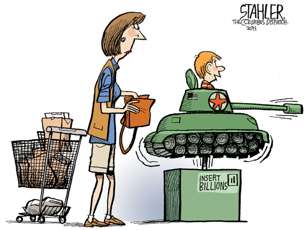 Jeff Stahler Comic Strip for June 23, 2011