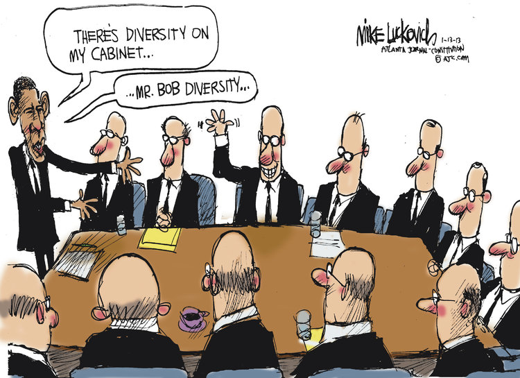 Mike Luckovich for Jan 13, 2013 Comic Strip