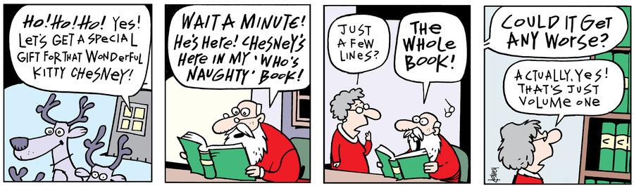 Ten Cats Comic Strip for December 05, 2018