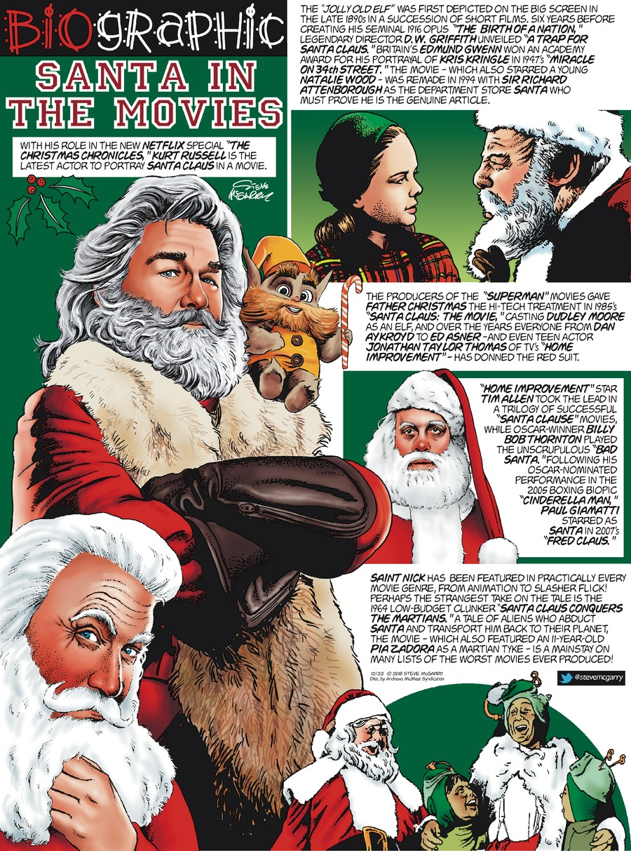 Biographic by Steve McGarry for December 23, 2018