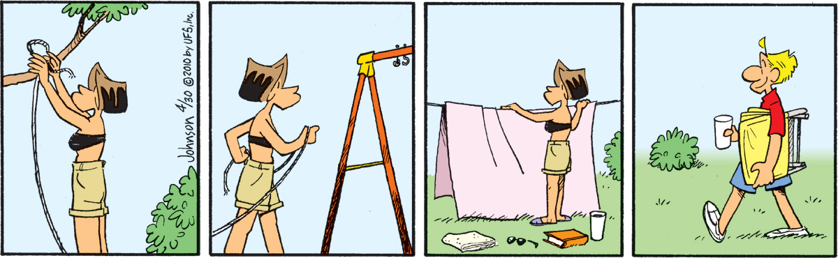 Arlo and Janis for Apr 30, 2010 Comic Strip