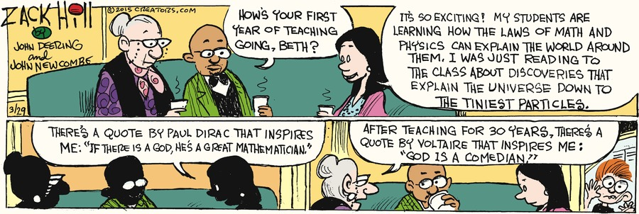 Zack Hill Comic Strip for March 29, 2015