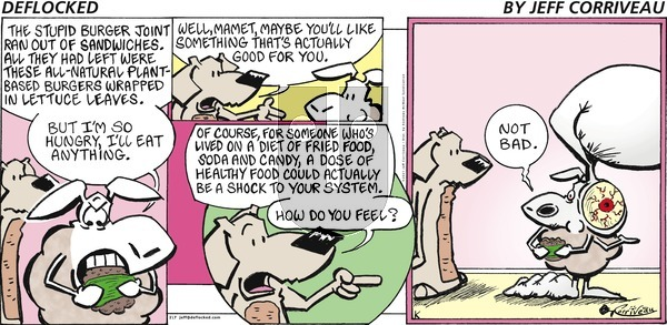 DeFlocked on Sunday February 7, 2021 Comic Strip