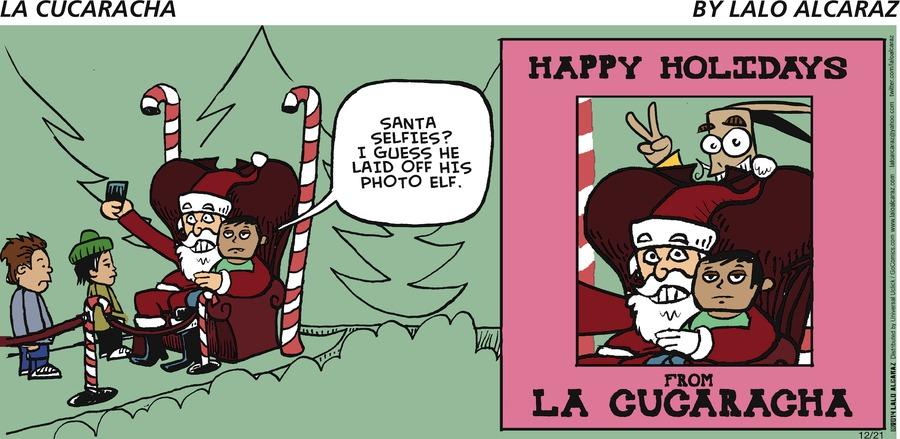 La Cucaracha Comic Strip for December 21, 2014