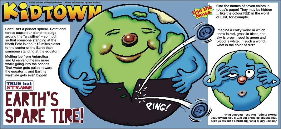 KidTown Comic Strip for July 29, 2018