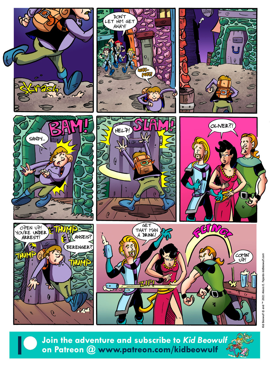 Kid Beowulf Comic Strip for May 14, 2021