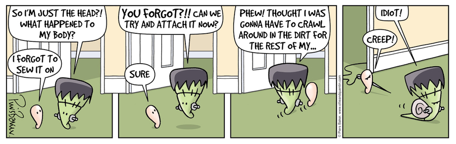 Ollie and Quentin Comic Strip for February 24, 2021