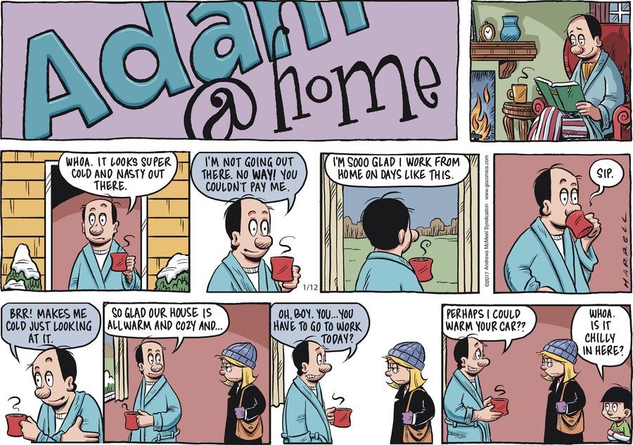 Adam@Home Comic Strip for January 12, 2020