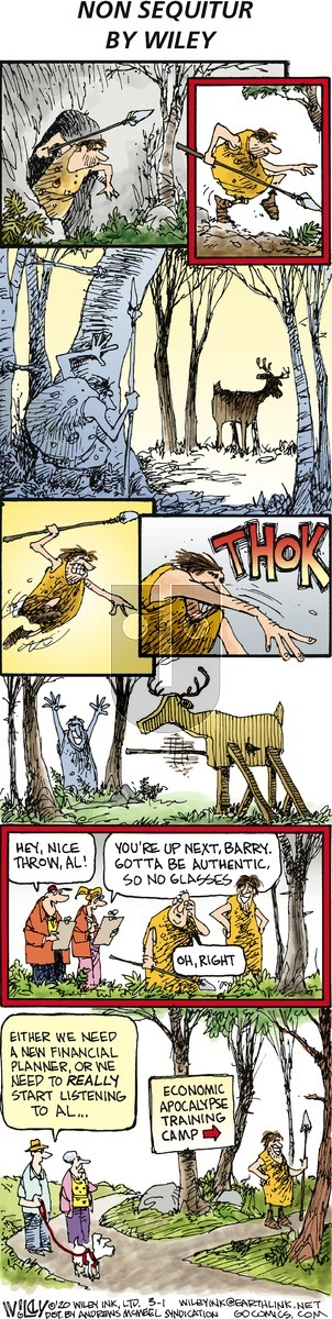 Non Sequitur on Sunday March 1, 2020 Comic Strip