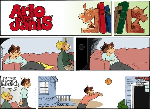Arlo and Janis on Sunday March 24, 2019 Comic Strip