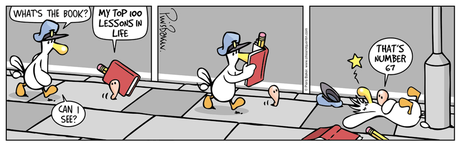 Ollie and Quentin Comic Strip for April 11, 2016