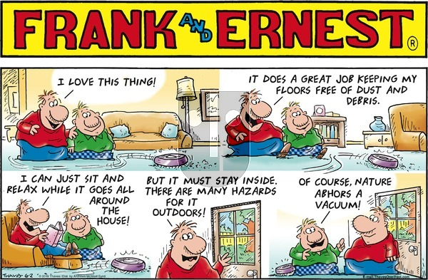 Frank and Ernest on Sunday June 2, 2019 Comic Strip