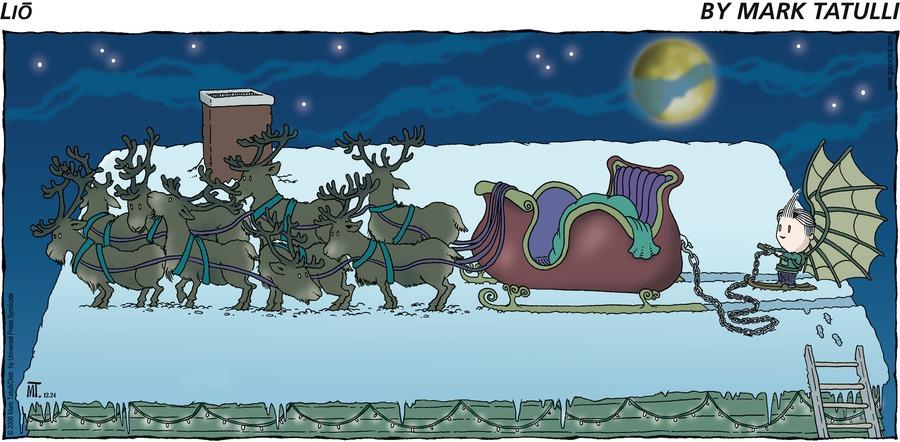 Lio for Dec 24, 2006 Comic Strip