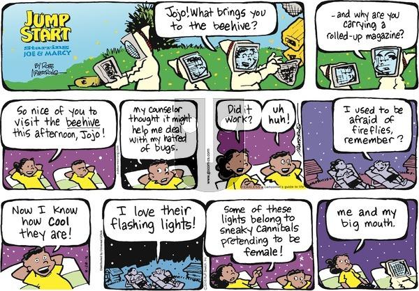 JumpStart on Sunday August 28, 2016 Comic Strip