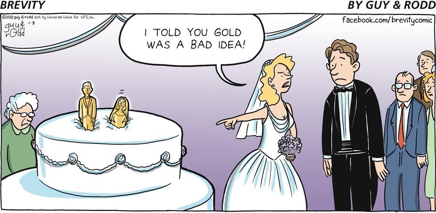 Brevity for Jan 8, 2012 Comic Strip