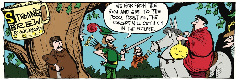 Strange Brew Comic Strip for January 19, 2020