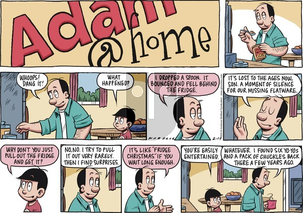 Adam@Home on Sunday February 17, 2019 Comic Strip