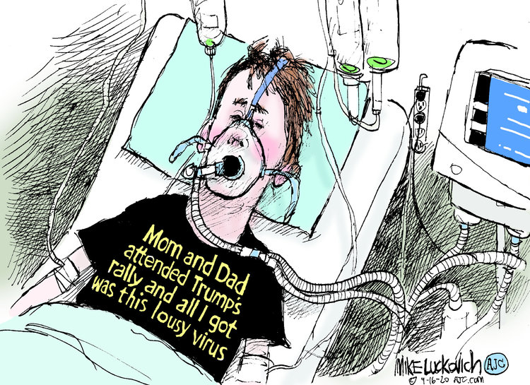 Mike Luckovich Comic Strip for September 16, 2020