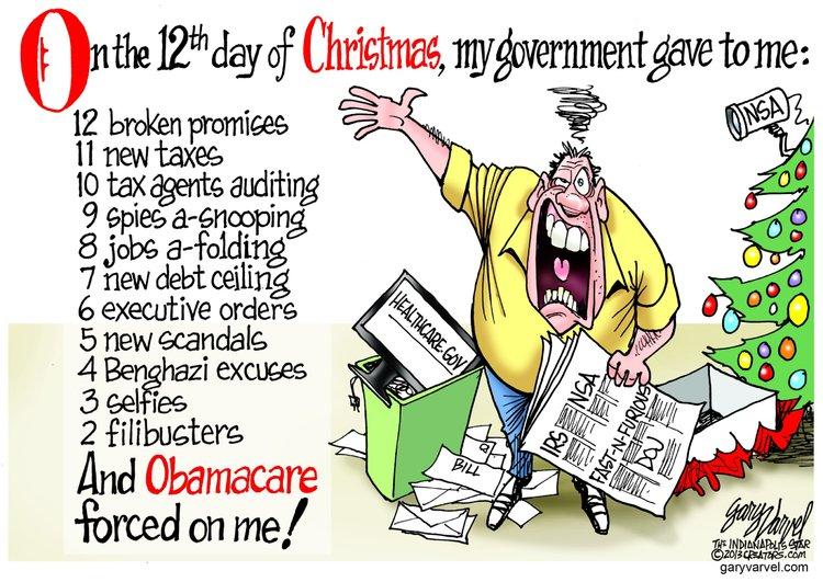 Gary Varvel Comic Strip for December 17, 2013