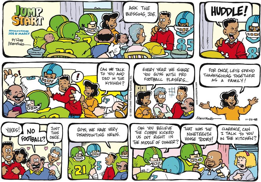 JumpStart for Nov 22, 1998 Comic Strip