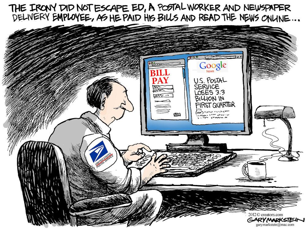 Gary Markstein Comic Strip for February 10, 2012