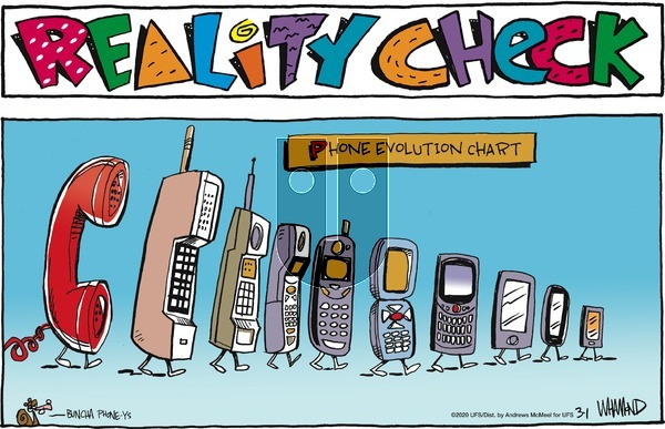 Reality Check on Sunday March 1, 2020 Comic Strip