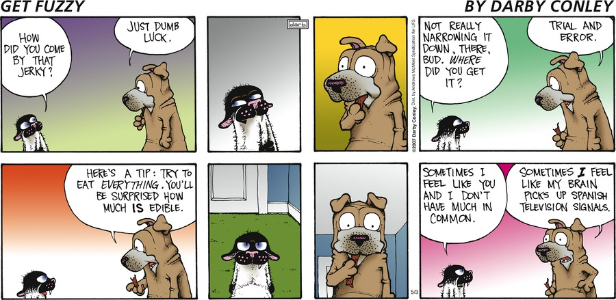 Get Fuzzy Comic Strip for May 03, 2020