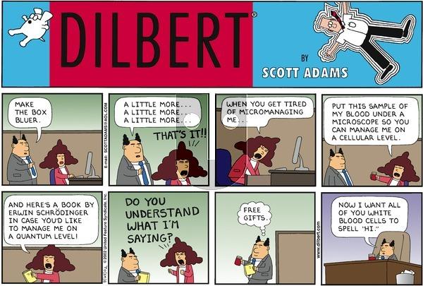 Dilbert on Sunday August 25, 2002 Comic Strip