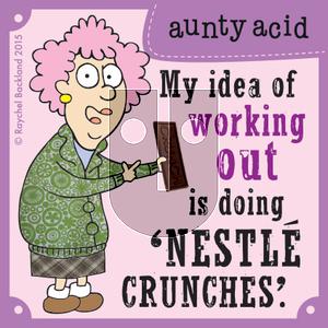 Aunty Acid on Sunday July 19, 2015 Comic Strip