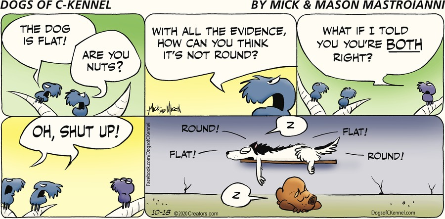 Dogs of C-Kennel Comic Strip for October 18, 2020