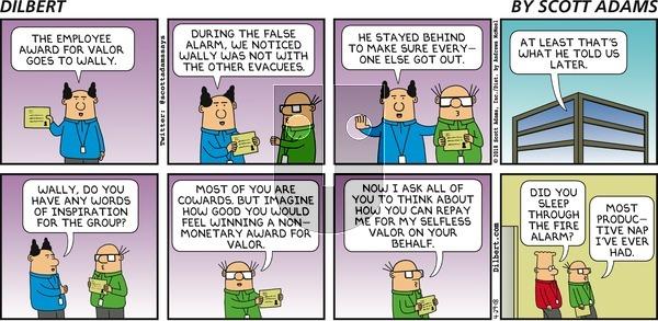 Dilbert - Sunday April 29, 2018 Comic Strip