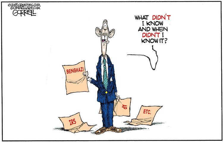 Bob Gorrell Comic Strip for May 15, 2013