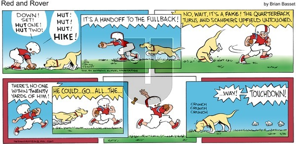 Red and Rover on Sunday September 30, 2018 Comic Strip