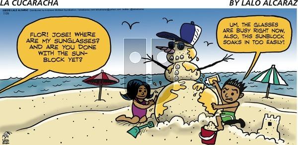 La Cucaracha on Sunday July 29, 2018 Comic Strip