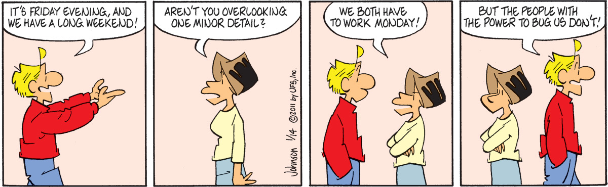 Arlo and Janis Comic Strip for January 14, 2011