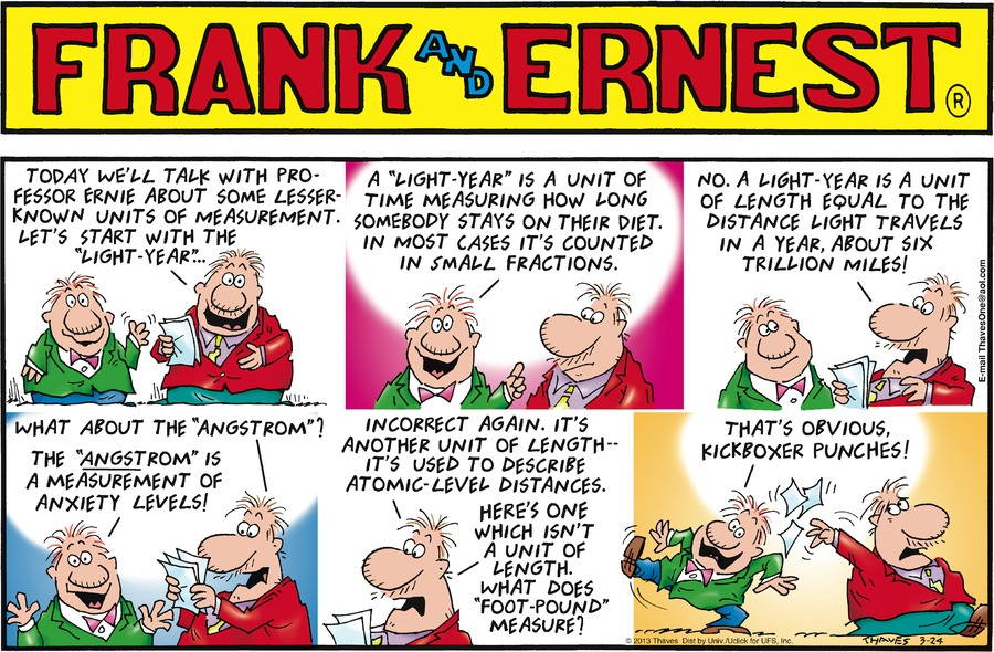Frank and Ernest Comic Strip for March 24, 2013