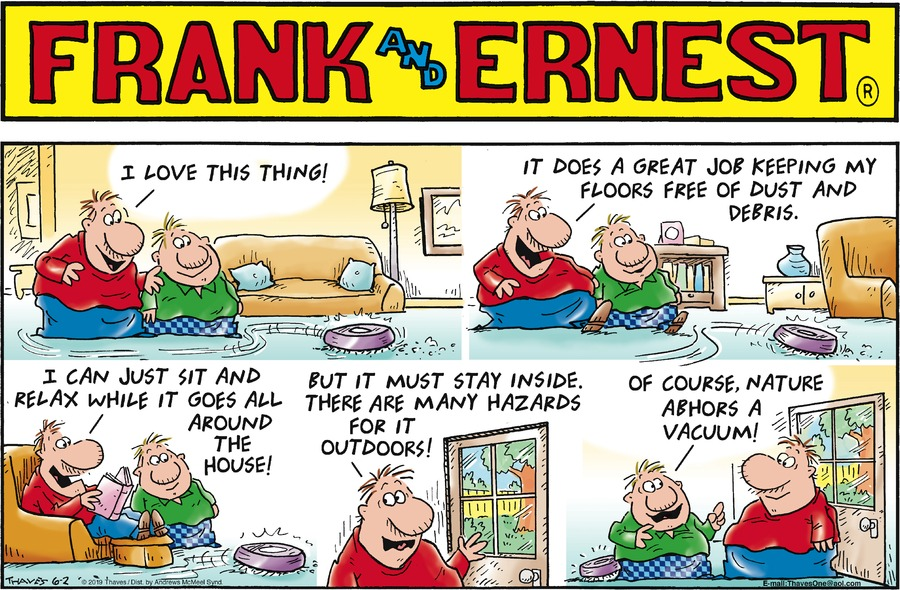 Frank and Ernest Comic Strip for June 02, 2019