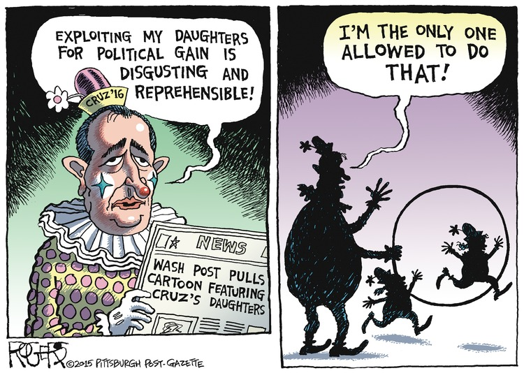 Rob Rogers Comic Strip for December 27, 2015