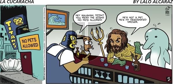 La Cucaracha on Sunday January 20, 2019 Comic Strip