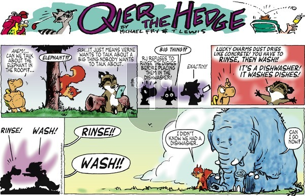 Over the Hedge on Sunday August 11, 2019 Comic Strip