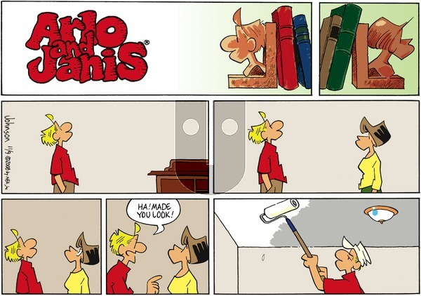 Arlo and Janis on Sunday November 9, 2008 Comic Strip