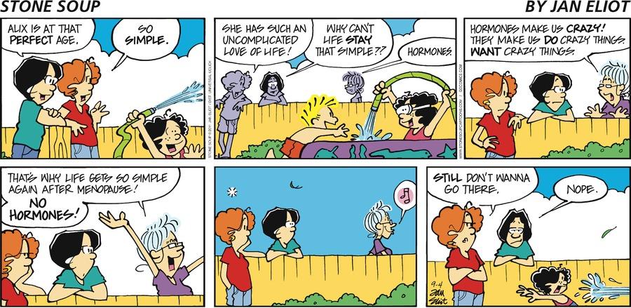 Stone Soup Comic Strip for September 04, 2011