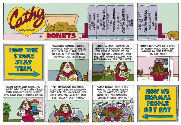 Cathy Classics on Sunday March 10, 1996 Comic Strip
