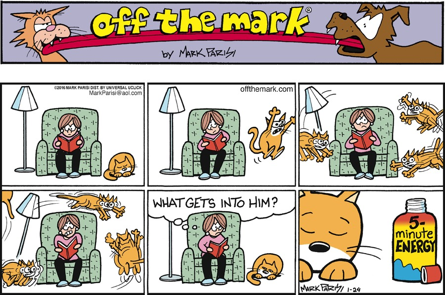 Off the Mark Comic Strip for January 24, 2016