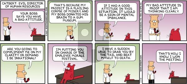 Dilbert on Sunday January 20, 2008 Comic Strip