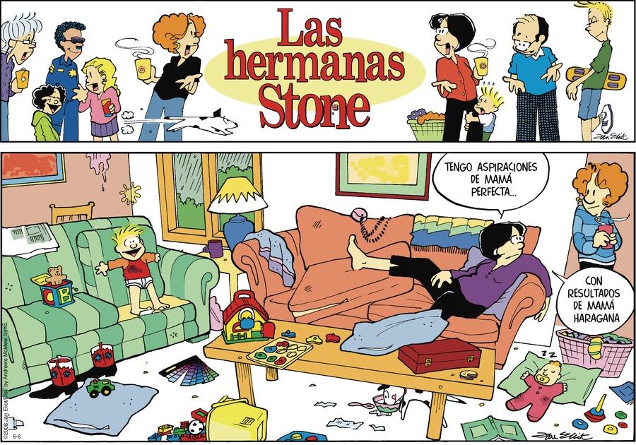 Las Hermanas Stone Comic Strip for June 06, 2021